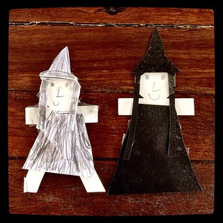 365/254 • the witches • #2014_ig_253 #6yo #crafter #witches