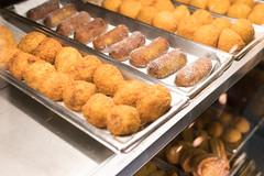 Savory Bakery (Wilsondoe) Tags: santa food cake dinner de bread dessert lunch los glendale angeles cheesecake caramel foodporn monica bakery oreo bites leche savory dulce portos
