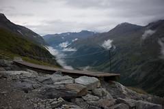 bridge (Toni_V) Tags: bridge alps rain fog clouds schweiz switzerland europe dof suisse hiking rangefinder alpen svizzera brücke wanderung 2014 graubünden grisons svizra summiluxm grischun fuorclasurlej 35mmf14asph 35lux valroseg chamannacoaz ©toniv leicam9 140823 coazhütte l1018024