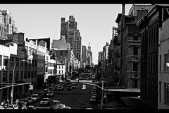 Meat packing 3 (jeremyah75) Tags: york blackandwhite usa ny newyork byn blancoynegro canon meatpackingdistrict wowiekazowie