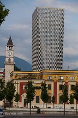 Tirana tower (filipe mota rebelo | 400.000 views! thank you) Tags: street city vacation building tower canon europe cityscape balkans albania 2014 tirana balcans fmr 5dmarkii filipemotarebelo