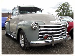 Chevrolet 3100 1950 (v8dub) Tags: auto old classic chevrolet up car automobile pickup automotive voiture chevy american oldtimer pick oldcar 1950 collector 3100 wagen pkw klassik pritsche worldcars