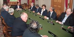 Canada's Premiers/premiers ministres des provinces et territoires at/à Province House