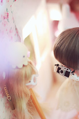 (nettle.) Tags: camera ball person photo doll experimental head 04 picture squid tiny bjd 112 nettle grumpy licca jointed secretdoll picturedoll takochu
