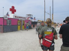 Rampart Urgent Care (666isMONEY   & ) Tags: man blackrockcity burning ems urgentcare rampart 2014 emergencymedicalservice bm2014 burningman2014 humboldtgeneralhospital burningman:camp=6330 bryanbledsoe