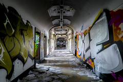 the director's forgotten files (Blende1.8) Tags: abandoned colors germany colours fuji grafitti decay fabrik gang corridor hallway fabric fujifilm dsseldorf fujinon decaying farben verlassen flur 1024 zerfall lostplaces lostplace xt1 1024mm xf1024mm