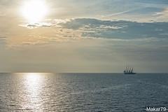 ... (-Makar79-) Tags: sunset summer clouds landscapes boat mare explored d700 70200mmf28gvrii nikkorafs70200f28vrii cloudsstormssunsetssunrises