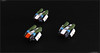 COMARCA INTERCEPTORS (Pierre E Fieschi) Tags: art lego pierre micro spaceship concept heavy corvette interceptor microspace comarca fieschi microscale fihter microspacetopia pierree