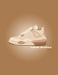 Hender Scheme Luxury 4s (Moon Designs & Illustrations) Tags: art graphicart design graphicdesign wings shoes vectorart graphic sneaker luxury lunar vector 4s airjordan sneakerart sneakerporn airjordan4 grafixx lunargrafixx artpreneur henderscheme