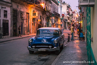 Day turns to night in Havana