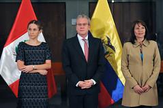 Per y Ecuador reforzarn trabajo conjunto en desarrollo social en las zonas de frontera (Cancillera del Per) Tags: ecuador lima social per deporte desarrollo poltica frontera cultura pobreza salud educacin