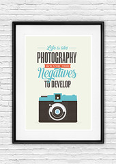 Holga poster, typogrpahy quote (h4ndz) Tags: art print poster typography holga lomo quote hipster wallart inspirational geekery motivational typographic rertro photographyprint