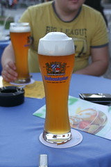 Weihenstephan beer from The same brewery, its The oldest brewery in The world still operateing. It dates back to 1040!