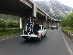 IMG_4115 (pueblobicicletero) Tags: santacatarina 2014 lahuasteca seguridadvial ciclismourbano sanpedrogarzagarca movilidadsostenible biciblanca parqueecolgicolahuasteca ciclismodeportivo