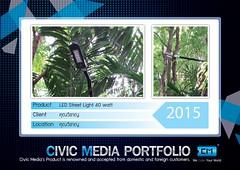 2015 - LED Street Light 40 watt - คุณวิชาญ