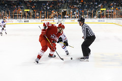 "Missouri Mavericks vs. Allen Americans, March 3, 2017, Silverstein Eye Centers Arena, Independence, Missouri.  Photo: John Howe / Howe Creative Photography • <a style=""font-size:0.8em;"" href=""http://www.flickr.com/photos/134016632@N02/32430580124/"" target=""_blank"">View on Flickr</a>"