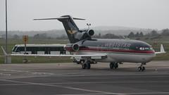 Weststar Boeing 727-23(WL) BFS 13-03-17 (robdsn) Tags: weststar boeing b727 trijet privatejet vipjet bizjet bfs belfast airport