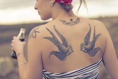 Cooling (Franck Tourneret) Tags: francktourneret cocacola cola soda tattoo taouage landscape girl nikon 50mm