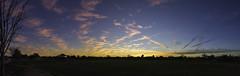 Phoenix Sunset Pano - 2-19-2017 (TAC.Photography) Tags: panoramic landscape sunset brillliantsky clouds arizona phoenix pink color bluehour tacphotography
