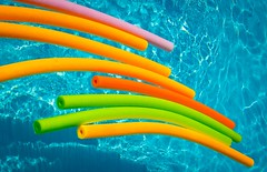Pool Noodles! (Marc_714) Tags: blue colors pool swimming colorful vivid marc714