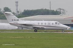 G-KLNR - 2008 build Beech 400XP, vacating Runway 27 on arrival at East Midlands (egcc) Tags: beechcraft raytheon ema beech hawker bizjet eastmidlands castledonington sxn 400a egnx 400xp n552eu saxonair gklnr rk552