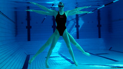 """ La femme de Vitruve "" (cocodiablotin) Tags: girl swimming underwater body femme swimmer fitness crossfit vitruve potd:country=fr"