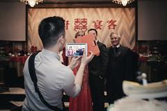 Multitasker (seango) Tags: york wedding toronto ontario canada canon asian photography nikon photographer north weding imaging es northyork chinesebanquet weddingphotography camon rapidstrap photoception esimaging