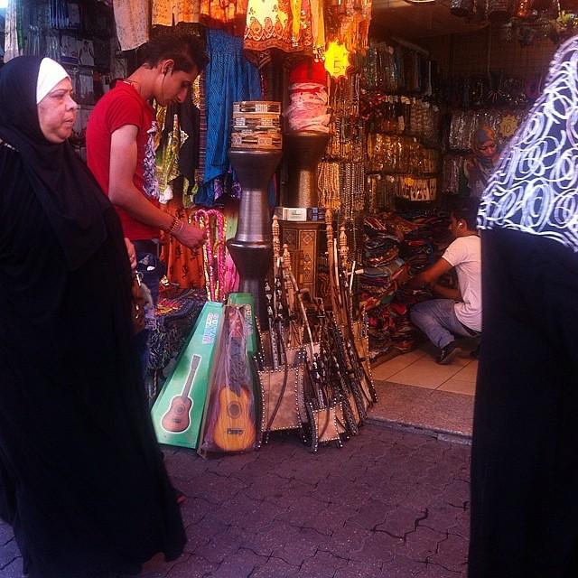 Giordania. Nel Suq di Amman.