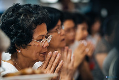 The Buddhist Ceremony (Whizz45) Tags: people gallery prayer perspective indoors smalldof strobist