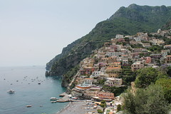 Positano, Italy (MJR96) Tags: ocean blue sea vacation sun holiday green water coast town europa europe mediterranean italia amalficoast euro positano europeanunion amalfi tyrrheniansea tyrrhenian
