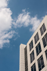 Reach for the sky (Vincent F Tsai) Tags: sky building architecture clouds corporate office leicadgsummilux25mmf14