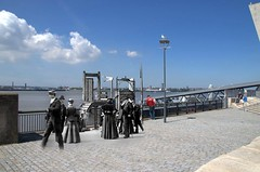 Pier Head, 1890 in 2014 (Keithjones84) Tags: liverpool merseyside oldliverpool thenandnow rephotography