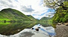 Reflecting Brothers Water. (johnandco) Tags: reflections landscape landscapes lakes windermere flicker dams ullswater glenridding hartsop thelakedistrict reservoirs brotherswater johnandco1