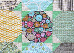 Snowball Quilt Tutorial - Finished Quilt Pic 3 (Modern Quilting by B) Tags: quilt sewing fabric quilting snowball block tutorial