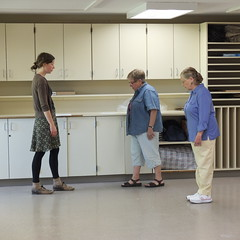 Balance Tests (sfrikken) Tags: senior wisconsin dance center falls class madison ballroom ruth therapy prevention janelle elsa physical 4stage basicsforbalance