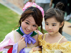 Princesses - Cosfest Asia 2014 (Pic_Joy) Tags: friends portrait anime girl japan lady youth costume singapore asia comic cosplay character young manga makeup teens hobby teen teenager leisure  cosplayer popculture   passtime 2014     downtowneast            cosfestasia