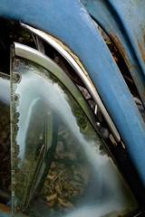 well vented (blairware) Tags: junkyard cracked delaminated ventwindow