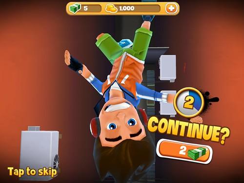 Skyline Skaters Save Me!: screenshots, UI