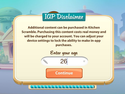 Kitchen Scramble Info: screenshots, UI