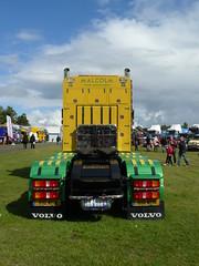 P1070317 (gordons1980) Tags: truck volvo construction malcolm lorry artic malcolmgroup stgocat3 truckfest2014scotland