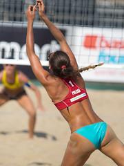 P7180203 (roel.ubels) Tags: world beach sport tour scheveningen denhaag beachvolleyball volleyball thehague volleybal 2014 beachvolleybal fivb