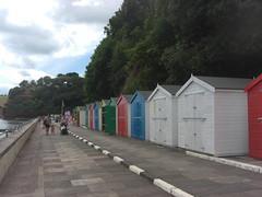 Coryton Cove Beach Huts July 2014 (Bridgemarker Tim) Tags: beachhuts teignmouth corytoncove