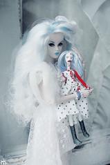 . (Elina-Doll) Tags: girls dead toys dolls zombie tracks dani her dynamite integrity in
