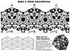 Kaleidocycle to print and fold (davis.jacque) Tags: papertoy kaleidocycle foldingpapertoy foldingtoy foldakaleidocycle