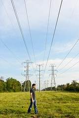 220/365 Aug 8 (BrianGoPhoto) Tags: selfportrait field photography powerlines 365 project365 365project