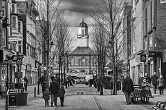 """""""Home is where the Heart is"""".... (Pensioner Percy, very slow at the moment) Tags: blackandwhite monochrome market explore townhall kingstreet southshields tyneandwear northeastengland sanddancer caerurfa d5100"""