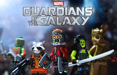 LEGO Guardians of the Galaxy - Preview (MGF Customs/Reviews) Tags: chris lego diesel super destroyer peter galaxy bradley cooper figure rocket vin heroes raccoon custom marvel quill pratt drax guardians minifigure groot thanos gamora starlord