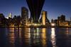 New York City Serie 17/31 (Alberto Sen (www.albertosen.es)) Tags: new york nyc bridge night river island noche nikon united roosevelt east alberto states bluehour nueva isla sen queensboro estados eeuu unidos d7000 albertorg albertosen