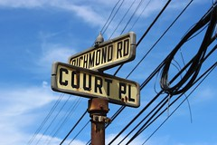 1940s Street Sign, Richmondtown (New York Big Apple Images) Tags: newyork statenisland richmondtown