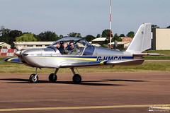 Private --- Evektor-Aerotechnik EV-97 Teameurostar --- G-HMCA (Drinu C) Tags: plane private aircraft sony dsc ffd fairford riat ev97 theroyalinternationalairtattoo egva evektoraerotechnik teameurostar ghmca hx100v adrianciliaphotography